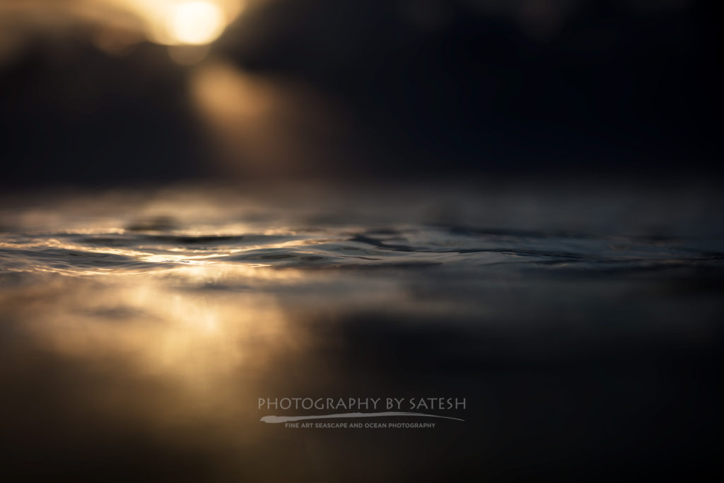 Abstract ocean art