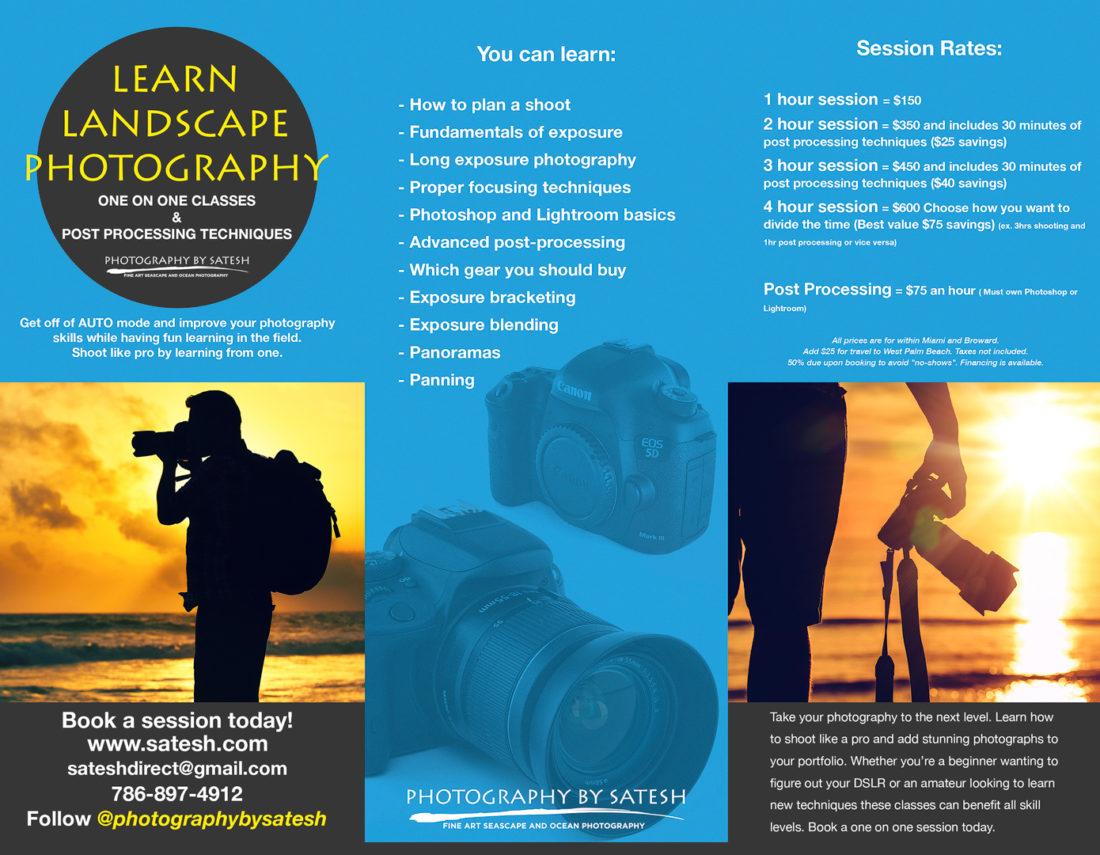 Florida landscape photography classes