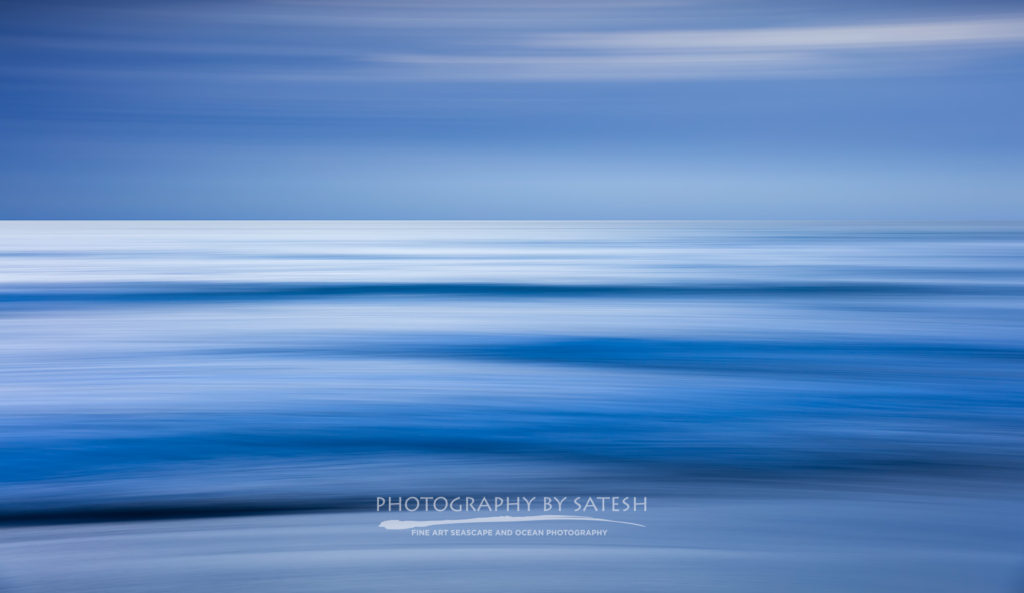 Abstract ocean art Florida seascape photography