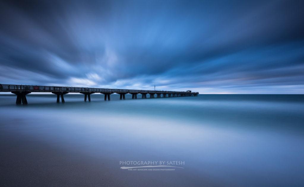 Florida landscape photography Pompano Pier