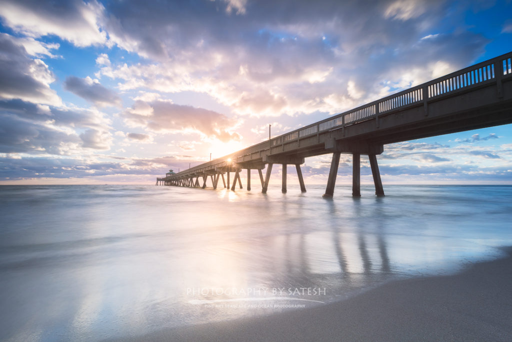 Deerfield Beach Pier sunrise