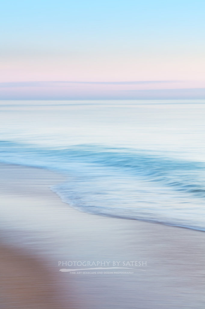Flagler Beach sunrise abstract ocean art