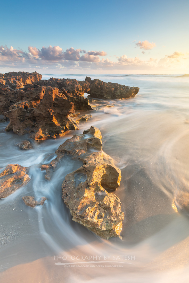 Florida landscape photography Coral Cove Park sunrise