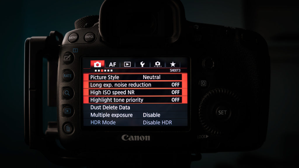 best settings for landscape photography