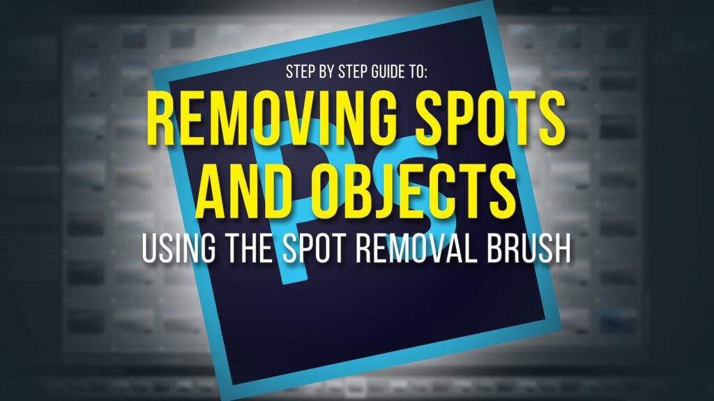 remove spots in photoshop